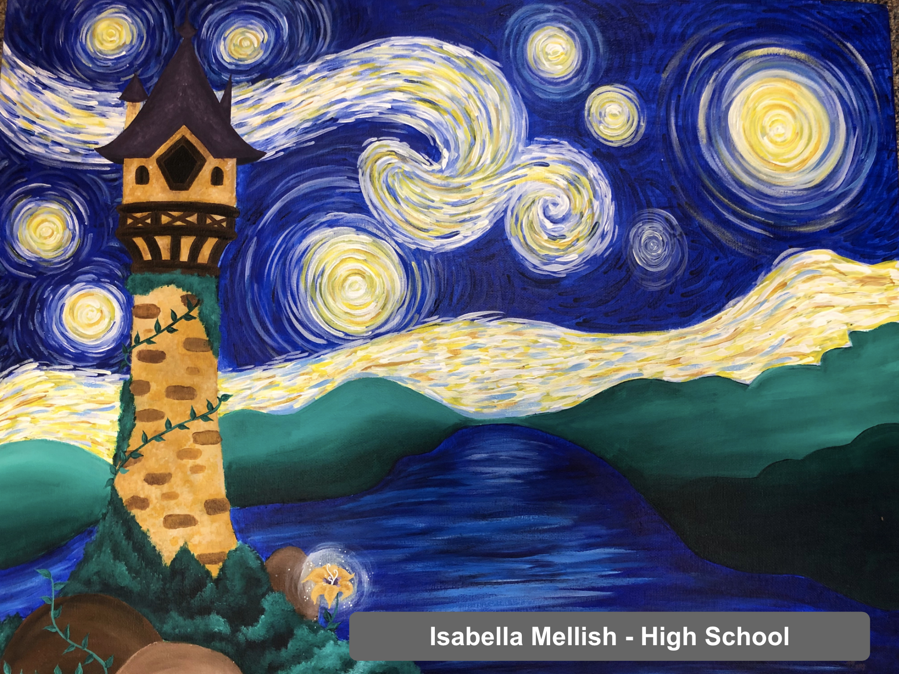 Isabella Mellish - Art Project - High School