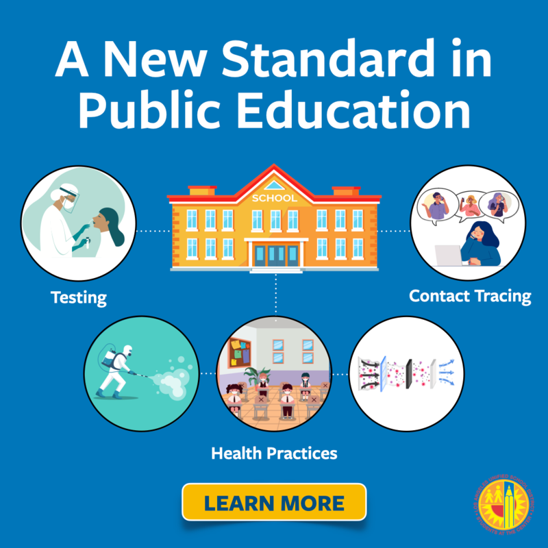 Los Angeles Unified Launches COVID-19 Testing and Tracing Program At Schools To Include Research on Impact and Effect of Reopening Featured Photo