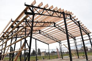 Framing of the hitting facility