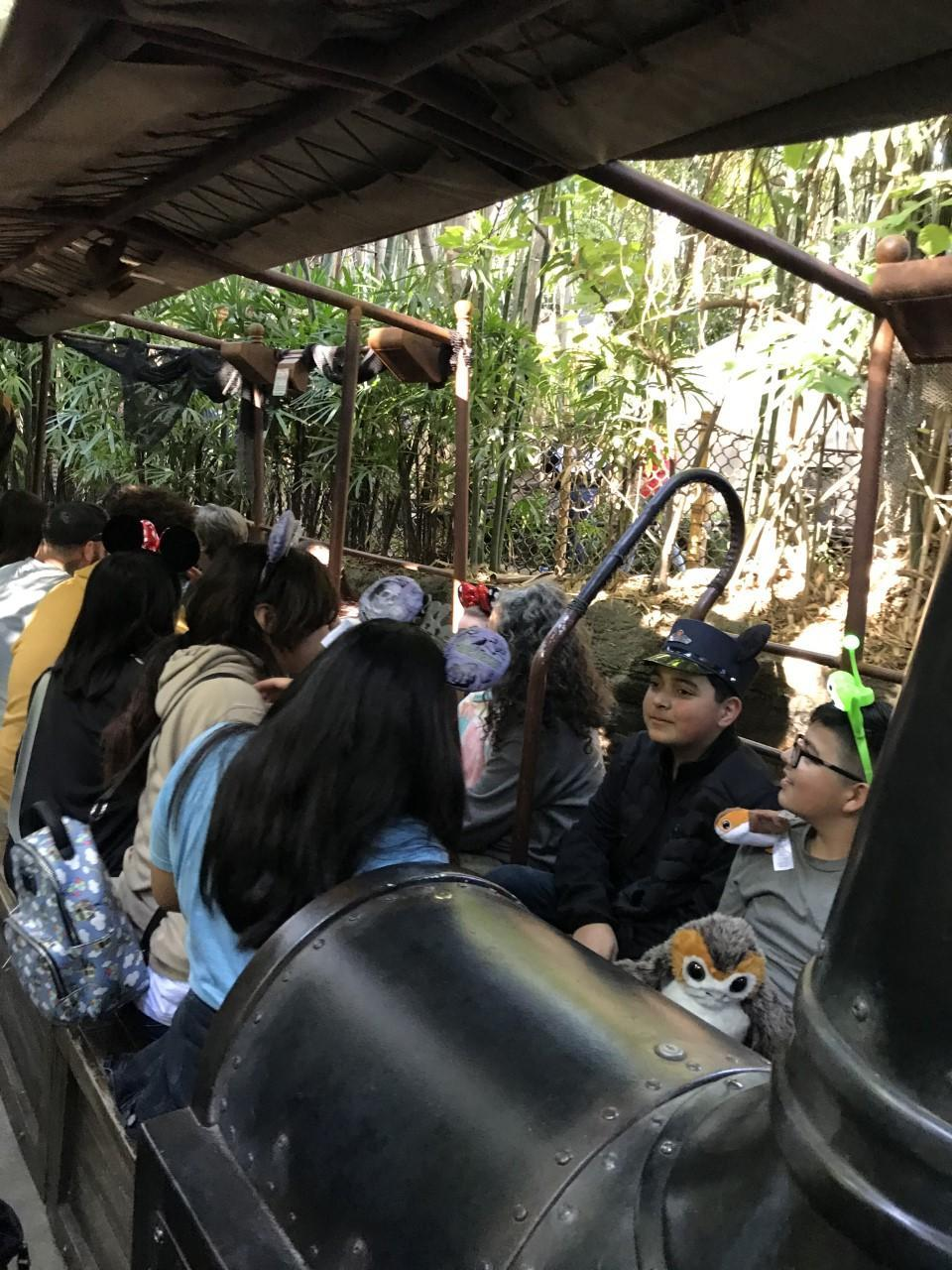 SVJH band students on the Jungle Cruise (Jan. 2020)