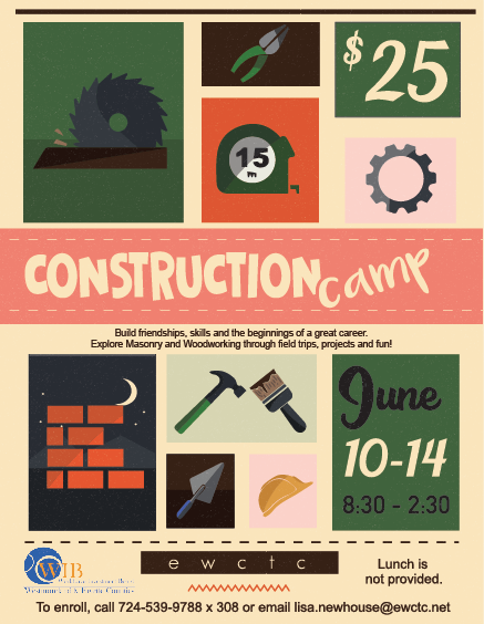 Construction Camp Flyer