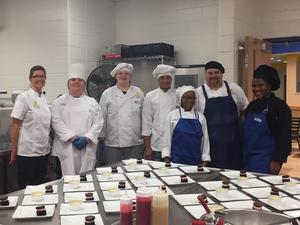 all culinary who participated in the event posing for a picture
