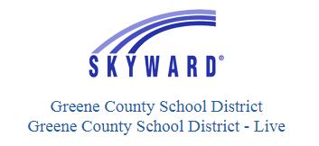 Skyward Greene County School District Graphic