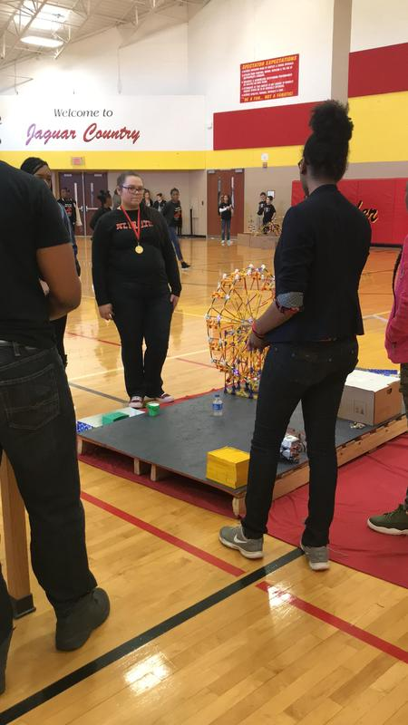 Team Bot Shots performing at competition