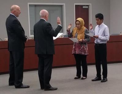 Scholar Sworn in as EUHSD Board Member Featured Photo
