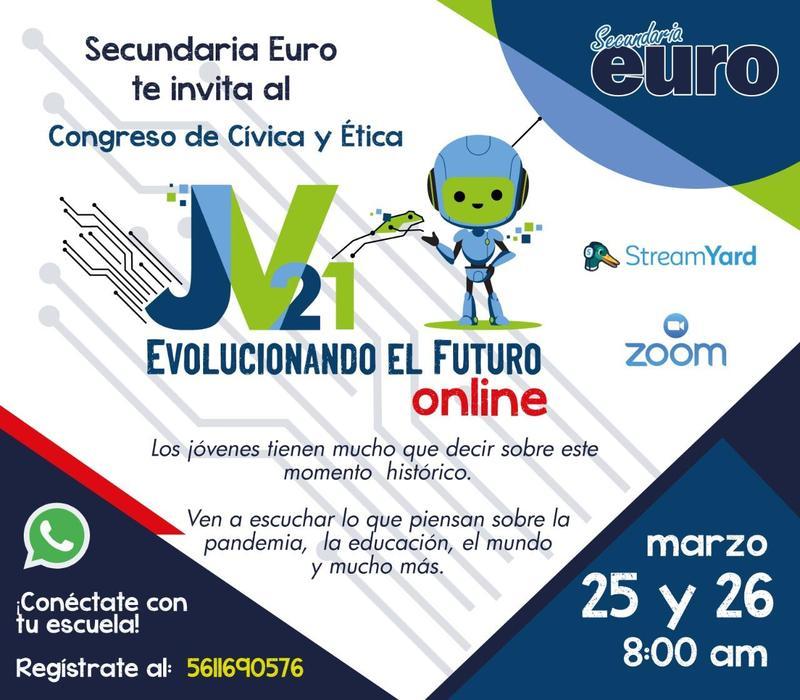 Congreso de Cívica y Ética Jóvenes de Vanguardia 2021 Featured Photo