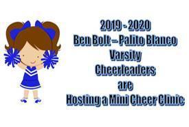 Mini Cheer Clinic Sun., Oct. 20 Featured Photo