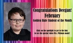 SSE's February Golden Rule Featured Photo