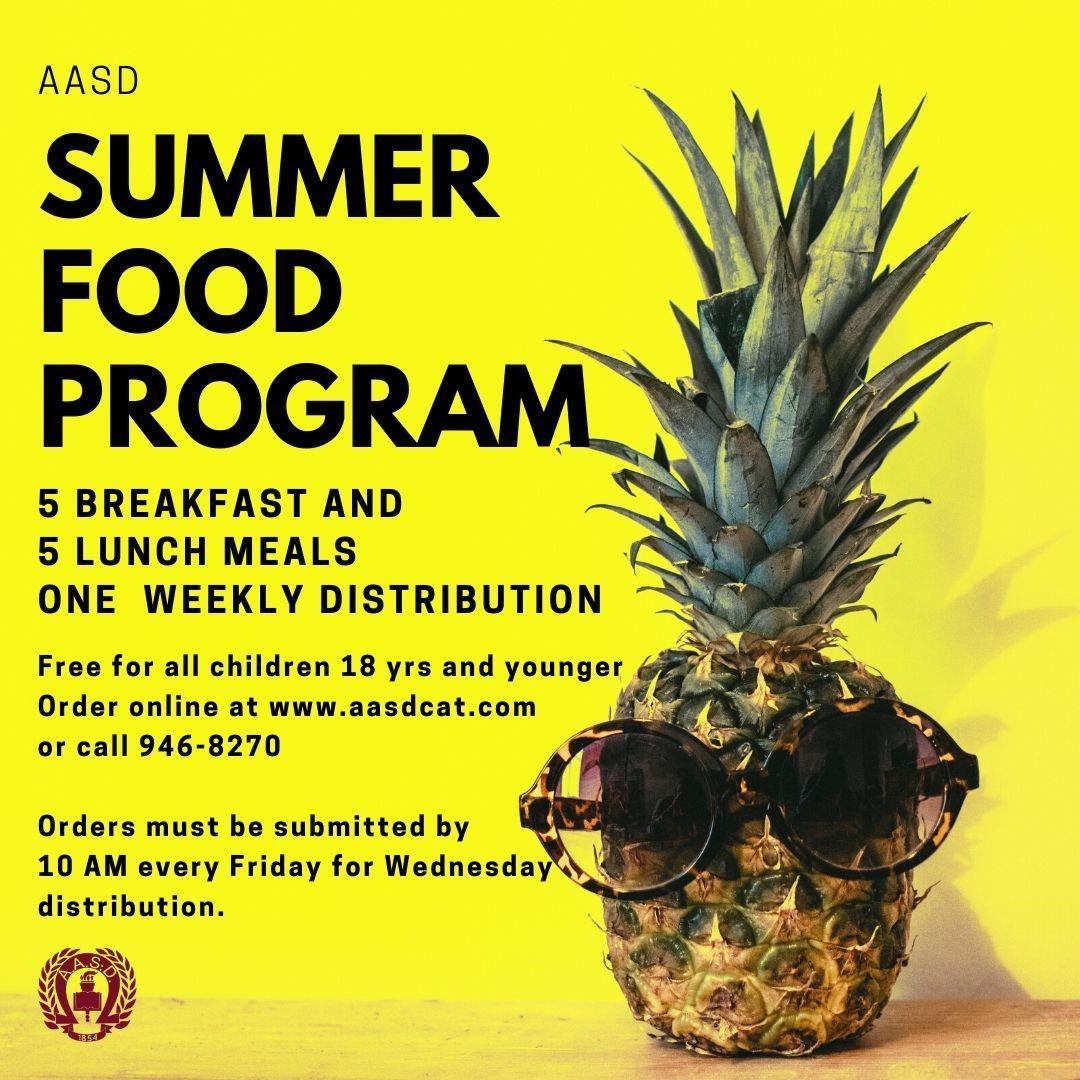Summer Food Program Logo
