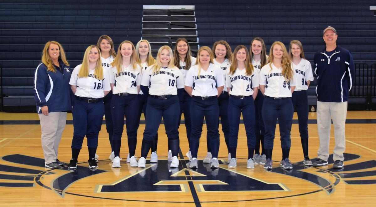 2019 Junior Varsity Softball Team