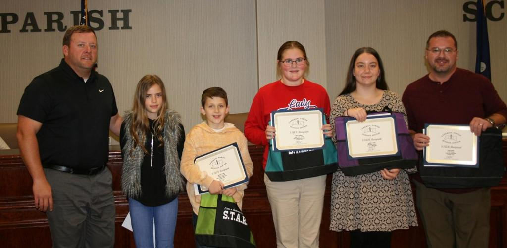 STAR Winners at the December Board Meeting