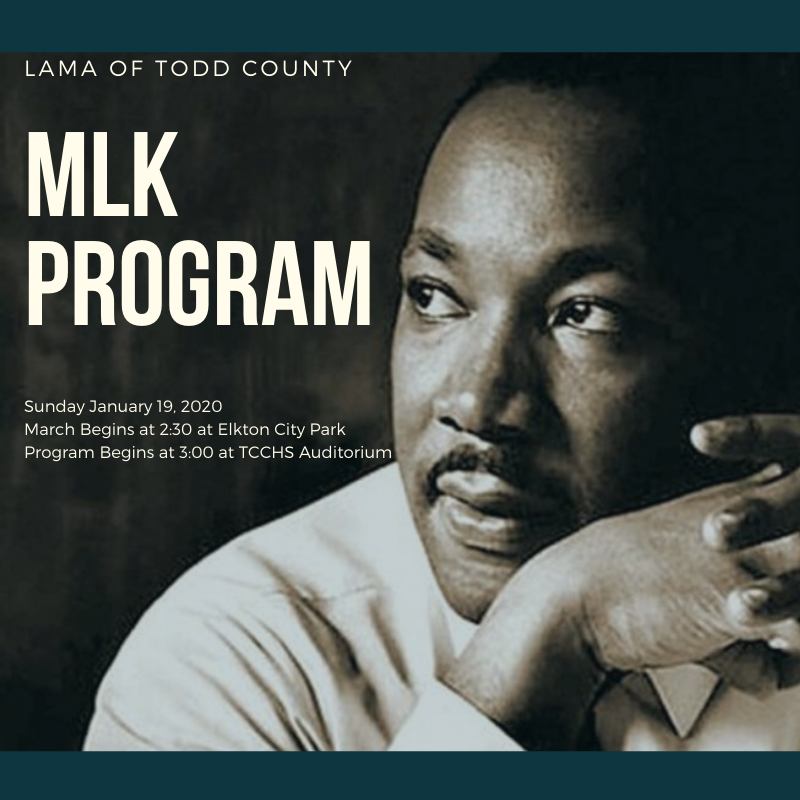 LAMA of Todd County hosting annual MLK Program Featured Photo