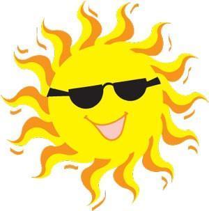 happy, smiling sunshine