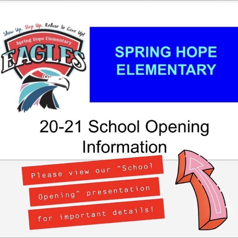 School opening Graphic