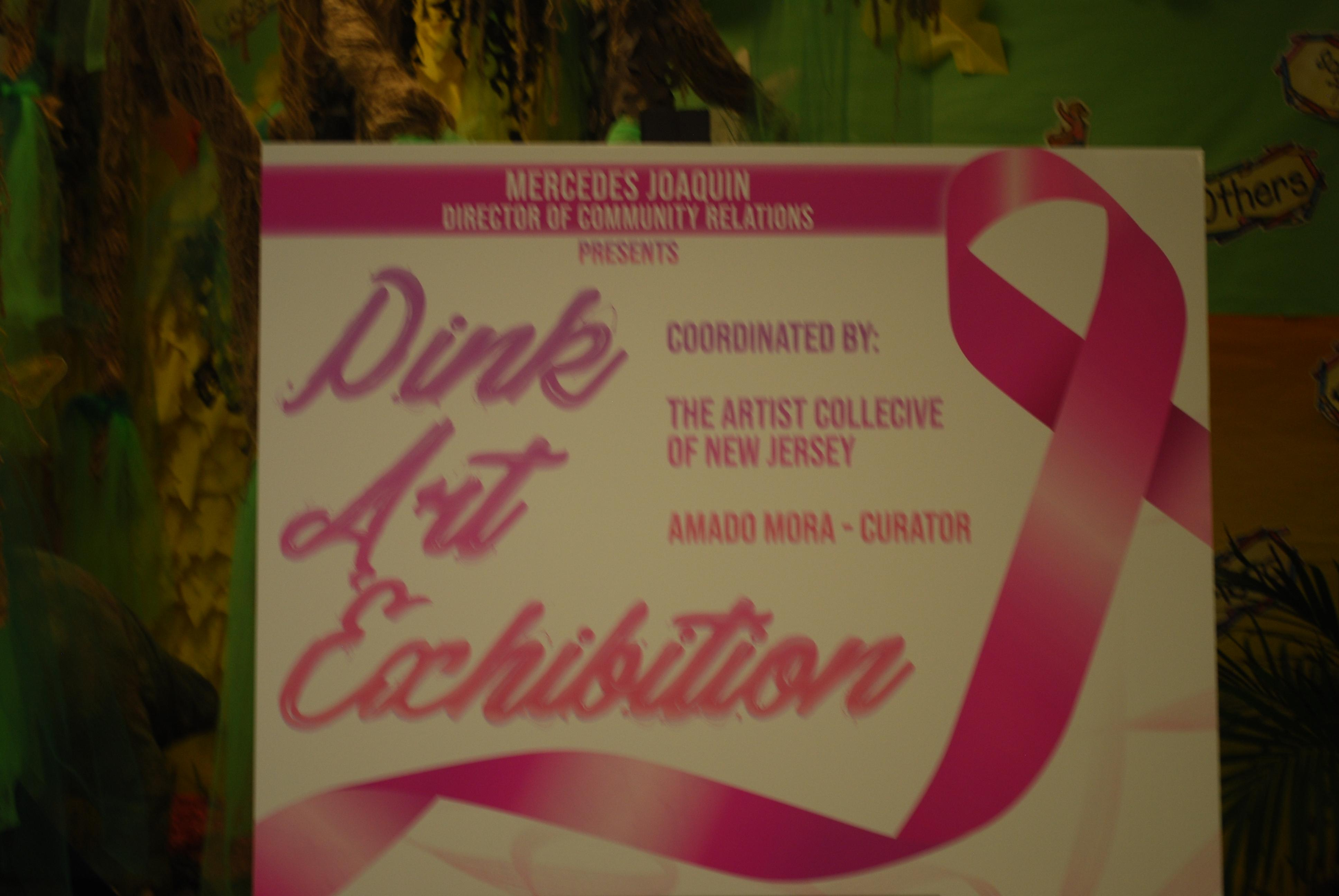 pink art exhibition