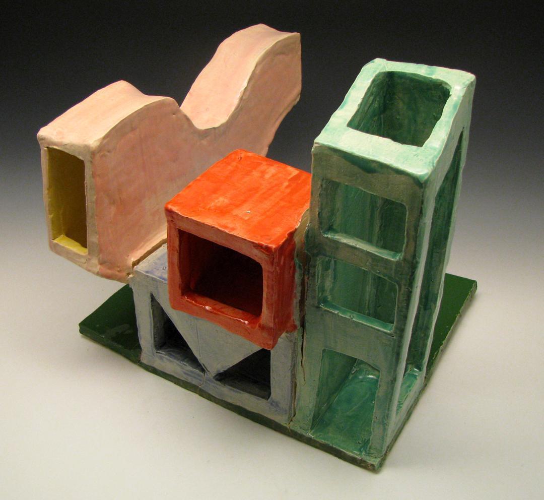 modern clay house