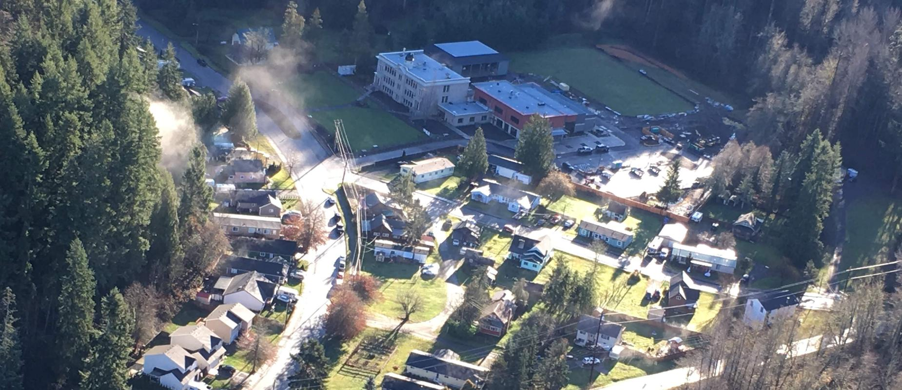 Ariel picture of Wilkeson Elementary