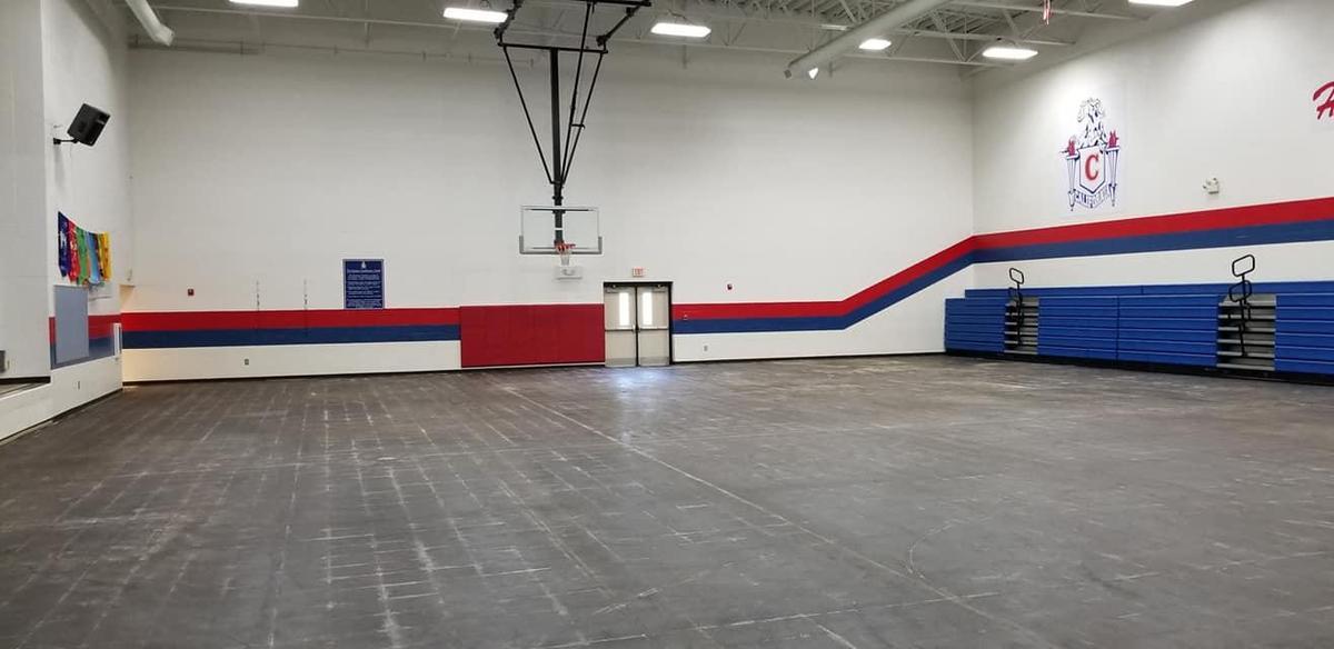 ES Gym Floor