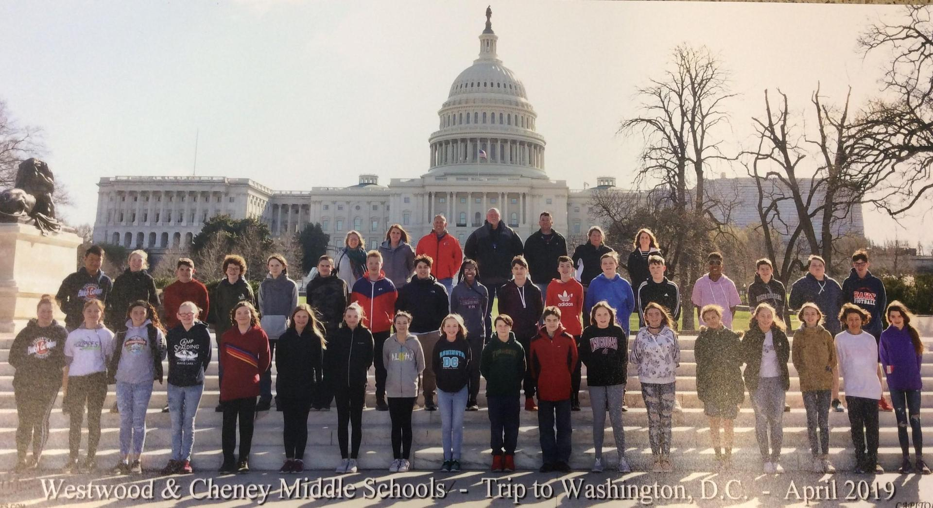 2019 DC Trip Group Picture