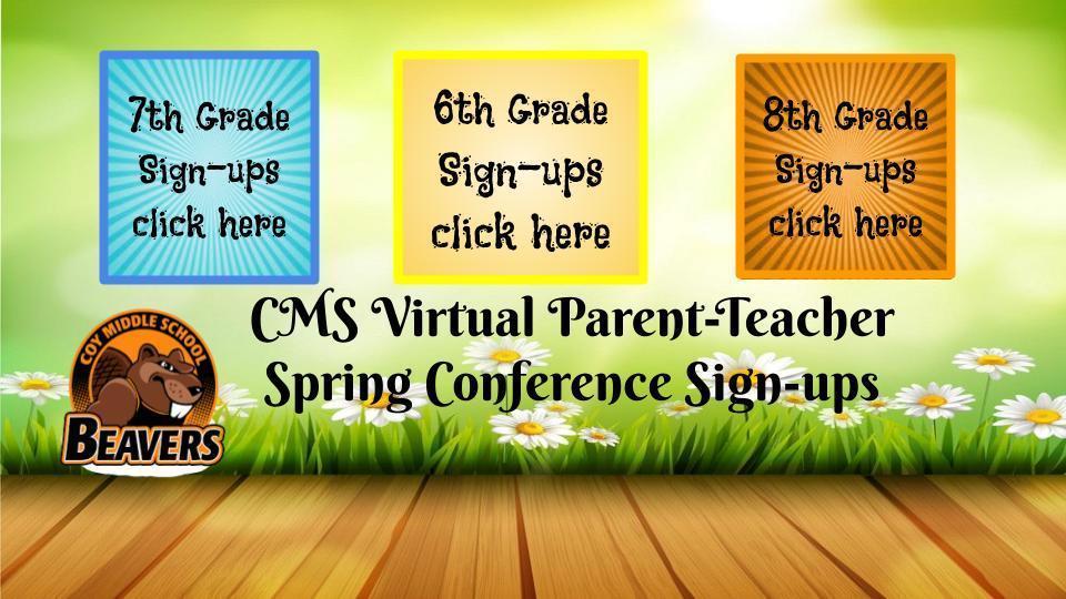 Spring Conference Links