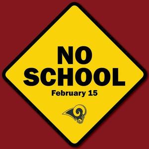 No School - February 15