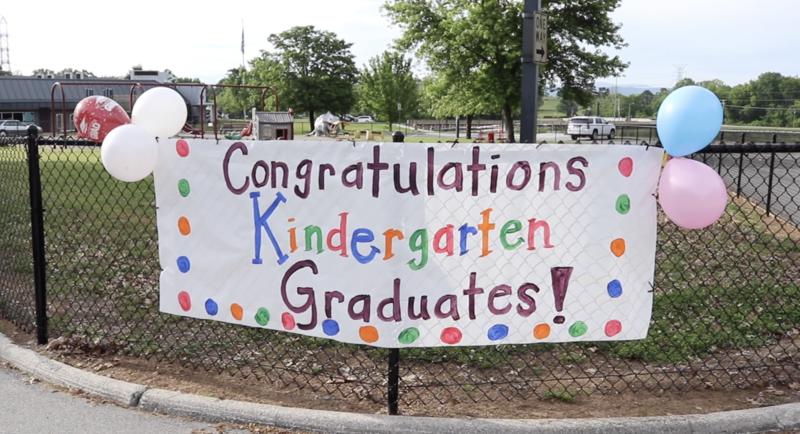 AES Congratulates Kindergarten Graduates in Drive-Thru Farewell Featured Photo
