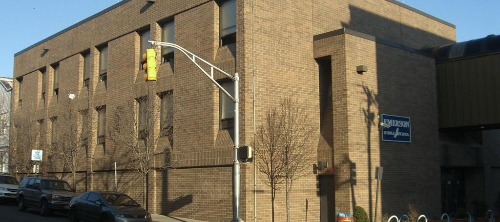 emerson middle school annex facade