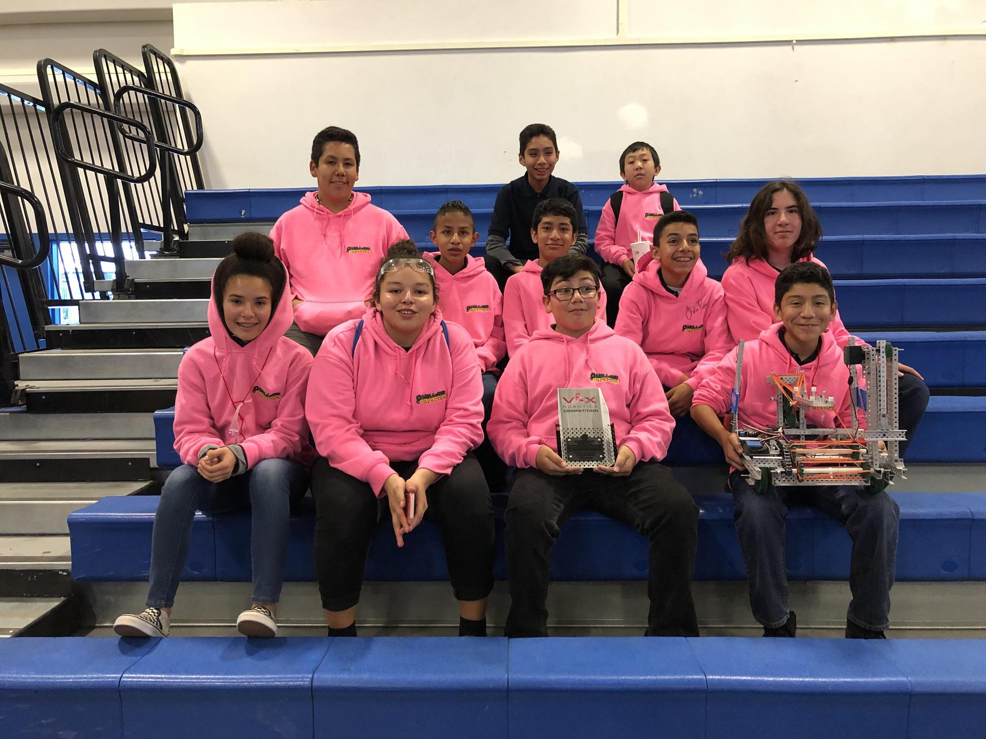 2018-2019 VEX Robotics Competition - Turning Point – Project