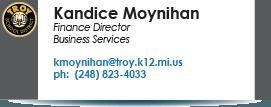 Kandice Moynihan, kmoynihan@troy.k12.mi.us.
