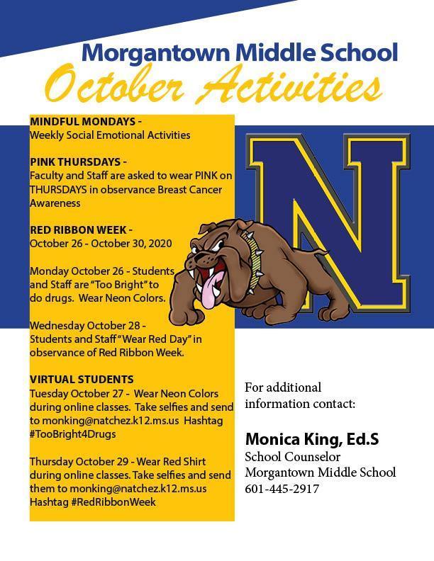 Morgantown October Activities