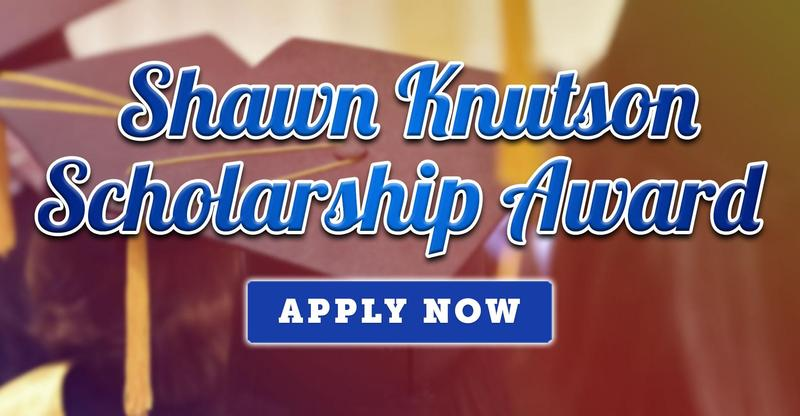2020 Shawn Knutson Scholarship Award Information & Application