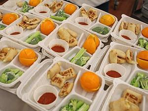 School Lunch Meal Service