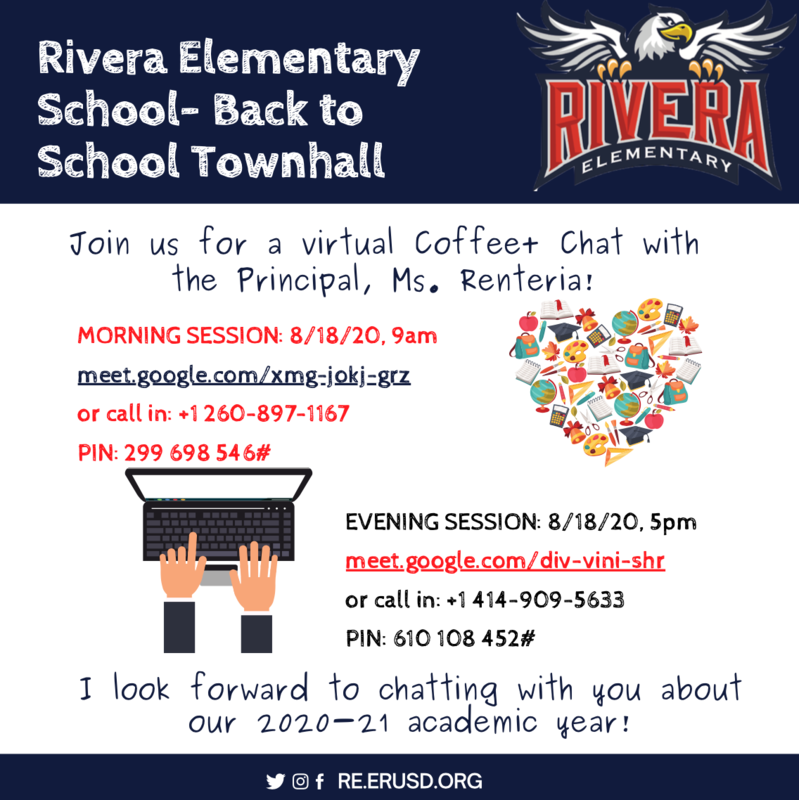 Virtual Coffee + Chat with the Principal!