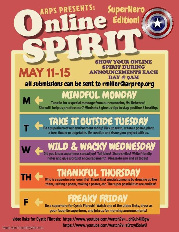 Online Spirit Flyer