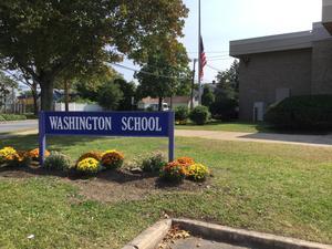 Washington School Sign