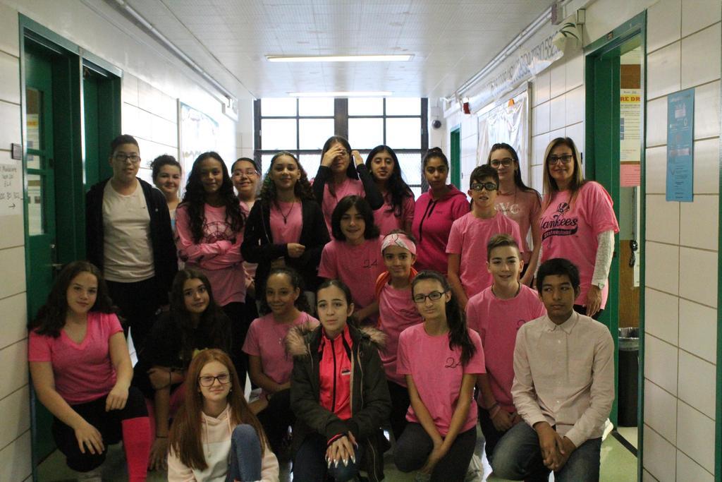 Mrs. Espositio's Eighth Grade Class