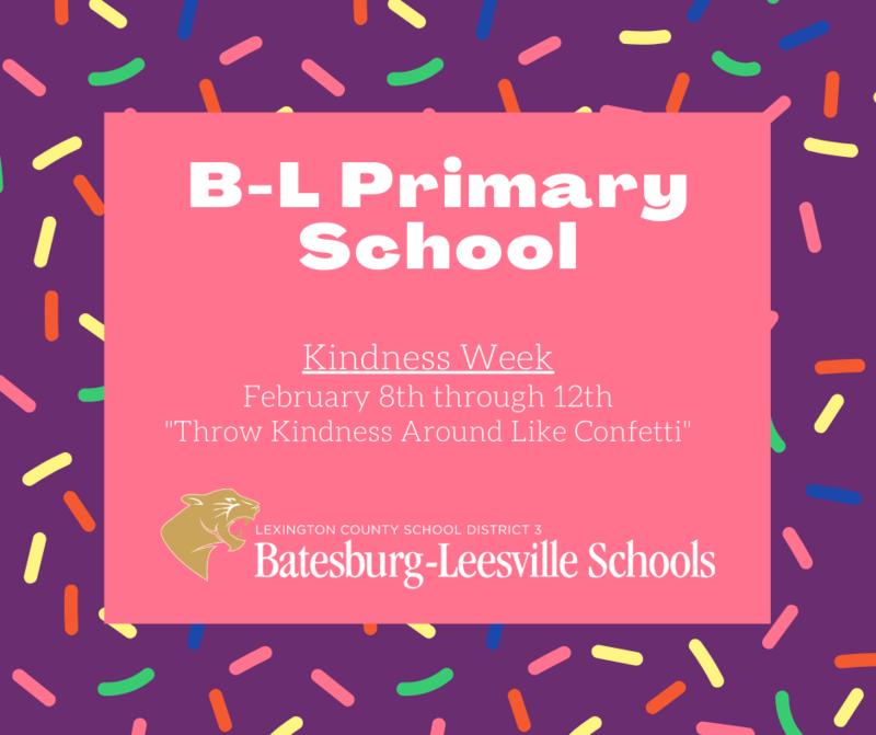 B-L Primary School Celebrates Kindness Week