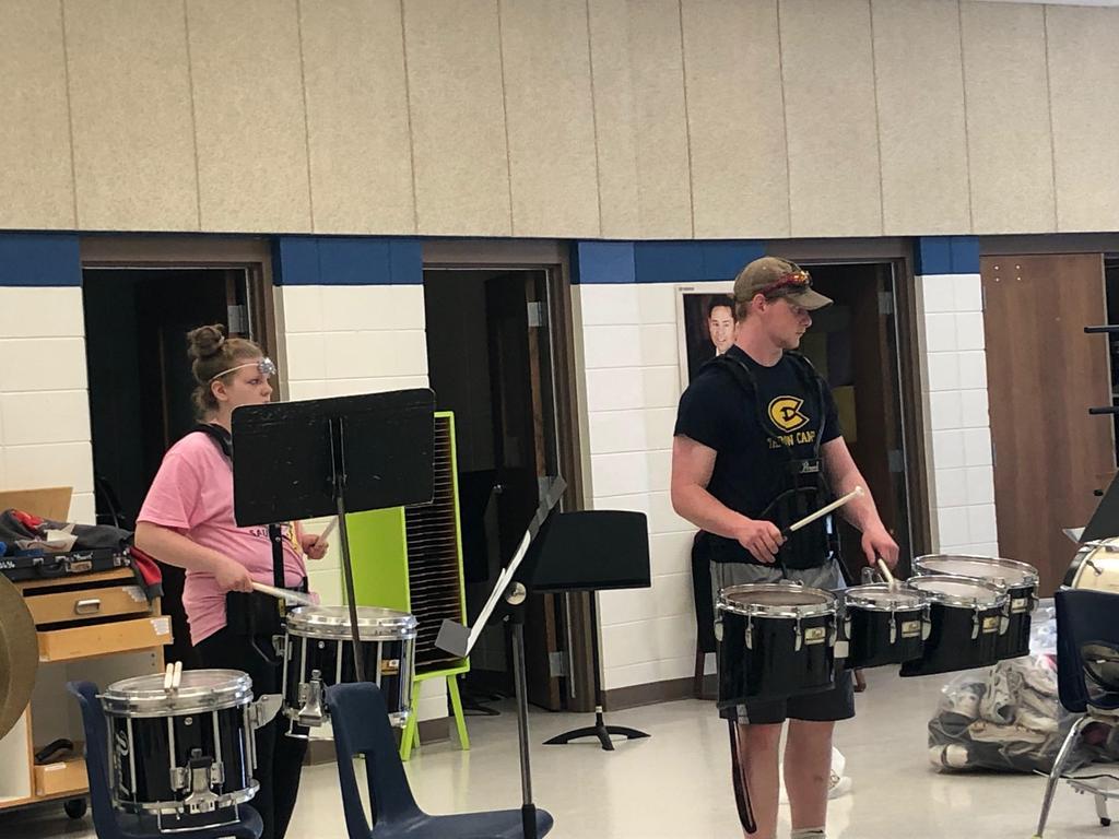 Rhythm concentration!