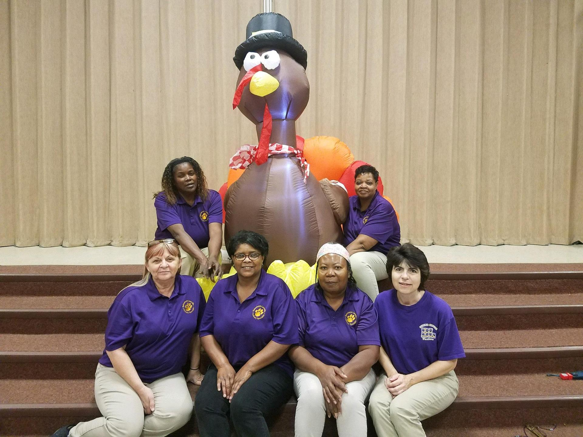 BLPS Cafeteria Staff