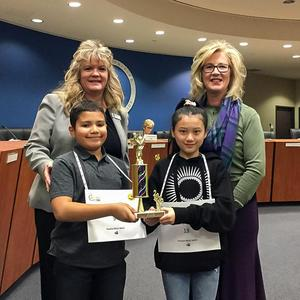 Hemet Unified 42nd Annual Spelling Bee 4th Place Winners