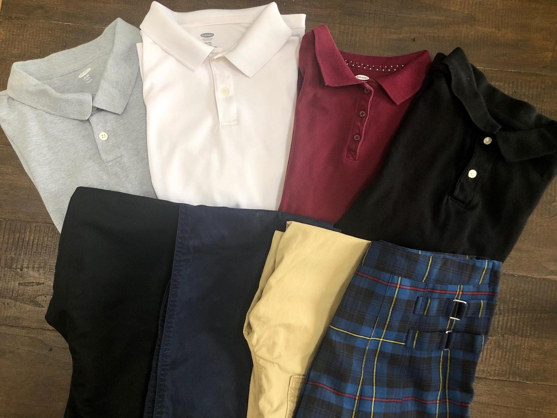 Uniform Colors Middle School