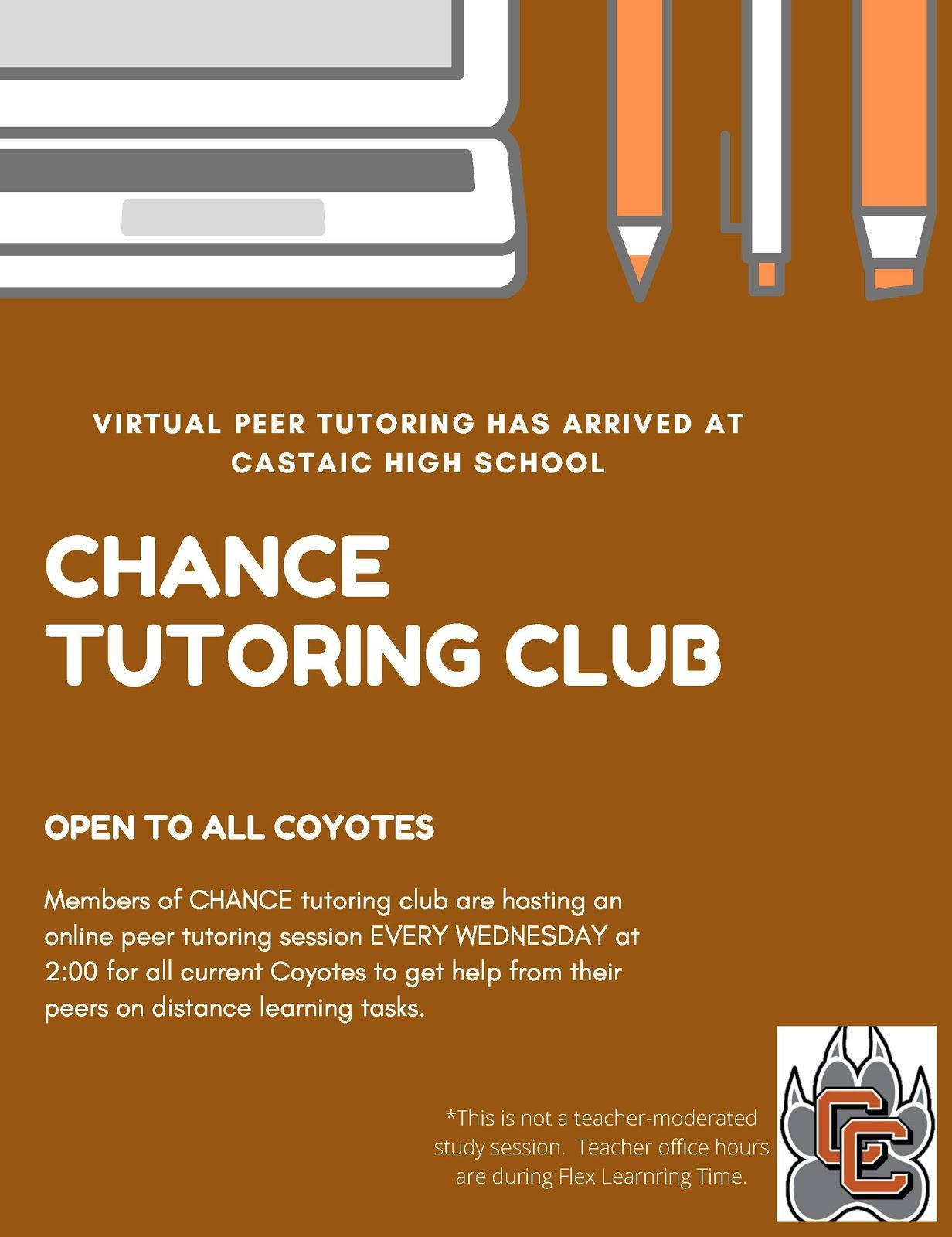 Chance Peer Tutoring Club