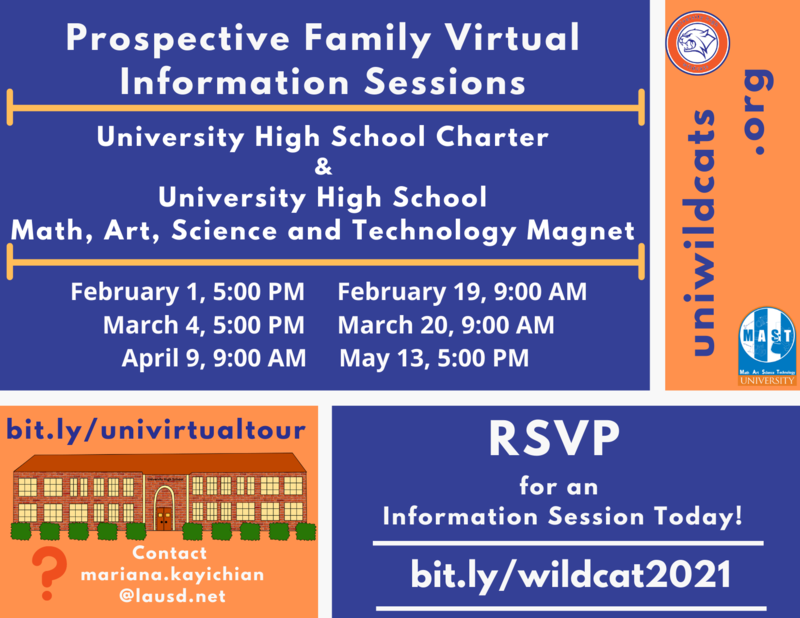 RSVP for a Virtual Information Session for Prospective Families! Thumbnail Image