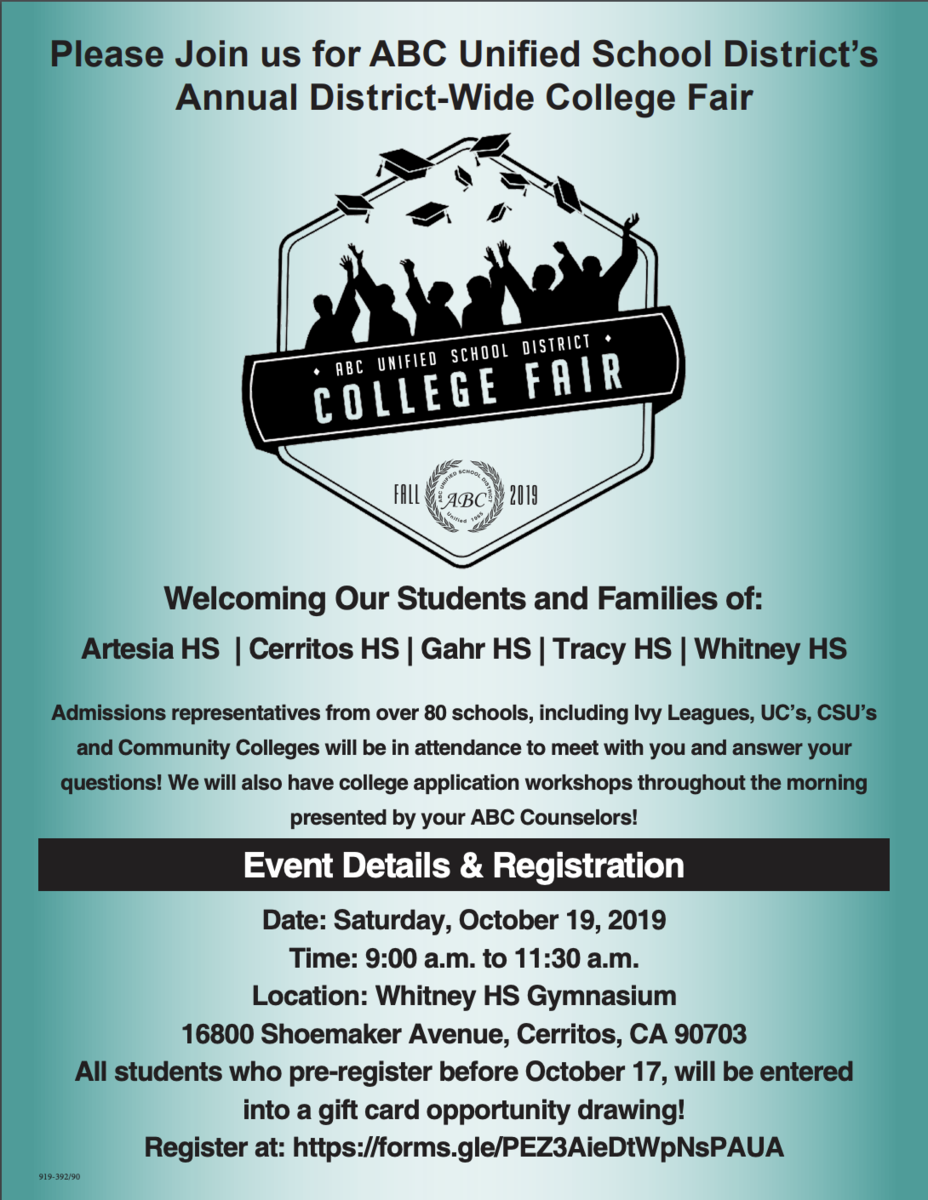 College Fair Flyer 2019