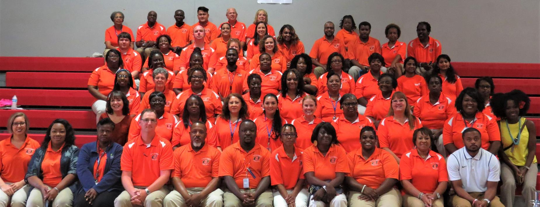 Hardeeville-Ridgeland Middle Staff Photo