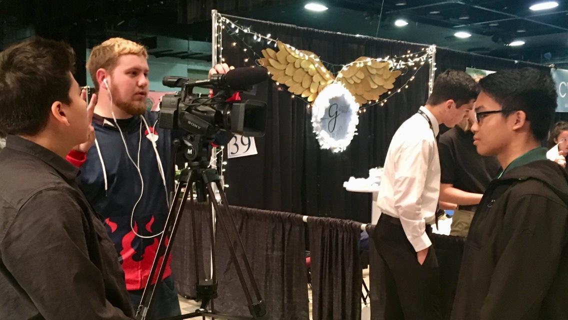Virtual Enterprise video shoot!