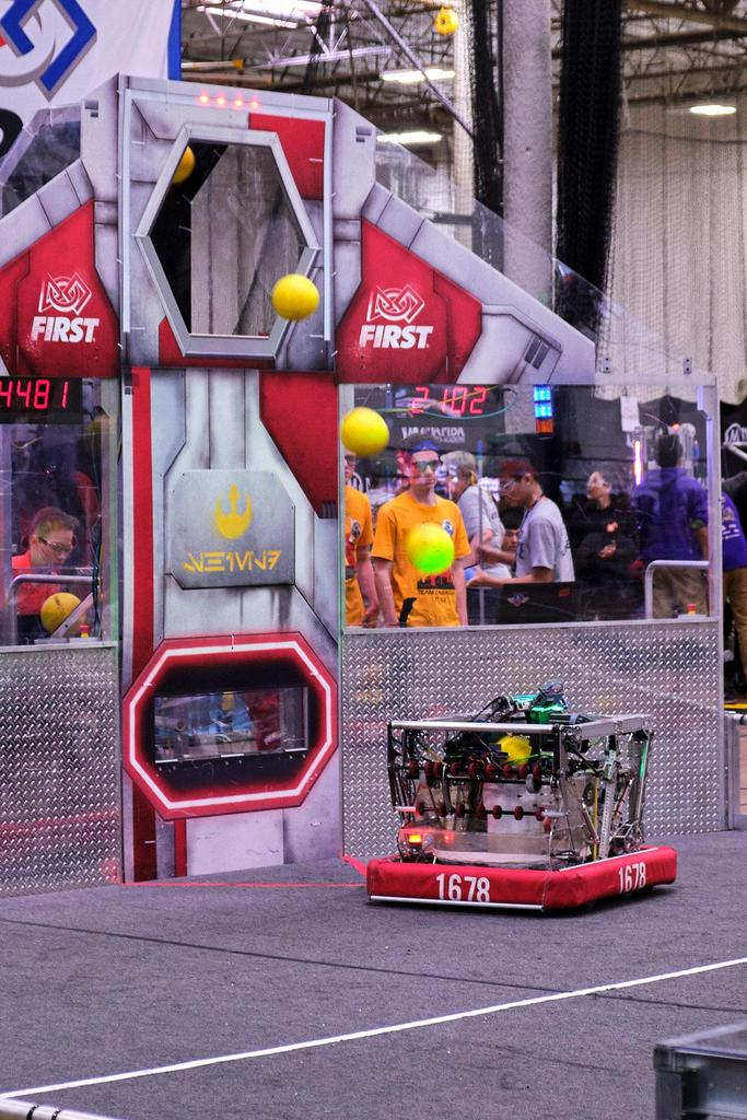 1678 knows how to make a fantastic robot!
