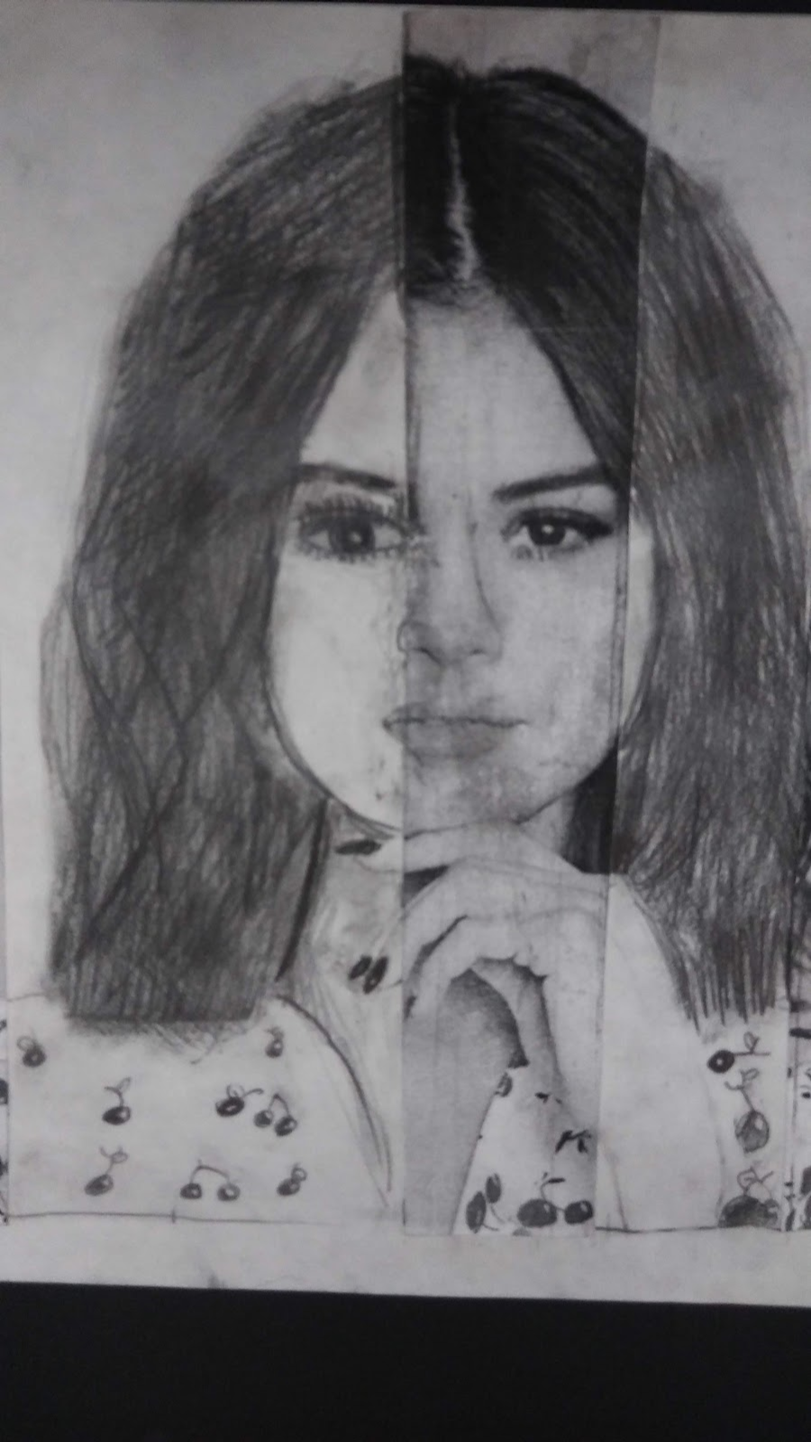 Landmark Student Portrait of Selena Gomez