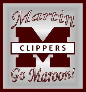 Photos of the letter M and Go Maroon