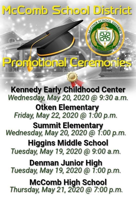 District Promotional Ceremonies 2020